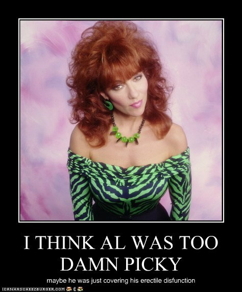 actor,celeb,demotivational,funny,Hall of Fame,katey sagal,married with children,TV