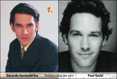 Eduardo Santamarina Totally Looks Like Paul Rudd