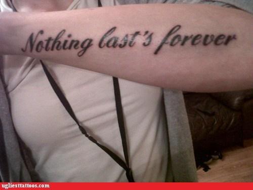 Ugliest Tattoos: Wrong