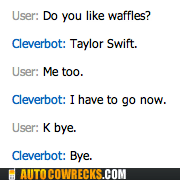 Not Even Cleverbot Wants to Talk About Waffles