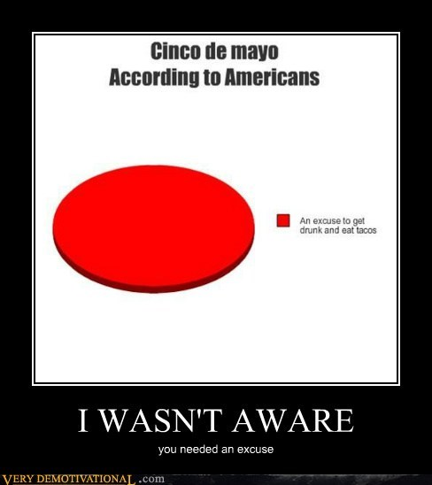 I WASN'T AWARE