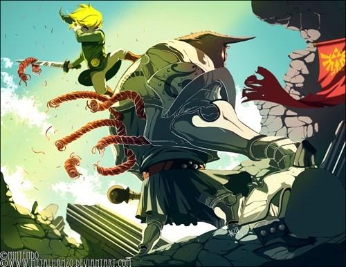 Darknut,FanArt,legend of zelda,link,video games