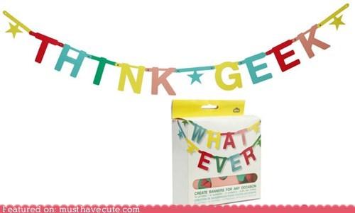 Make Your Own Banner Kit