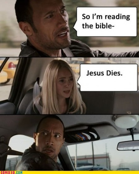 bible,From the Movies,jesus,Movie,spoiler,the rock