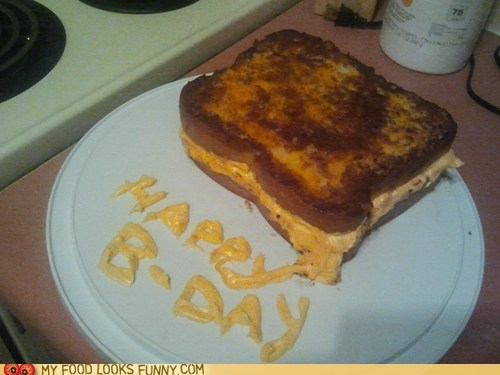 bread,cake,frosting,grilled cheese,sandwich