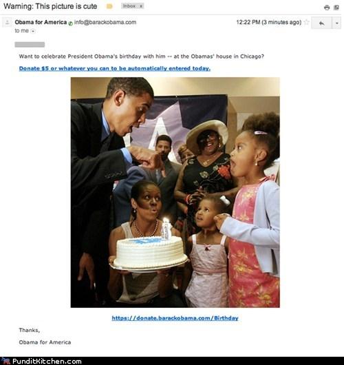 barack obama,cute,democrats,political pictures