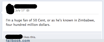 Yes Please Let's Exchange 50 Cent With Africa