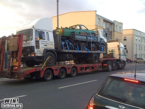 Truck on Truck Action WIN