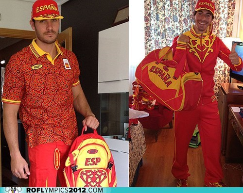 Nothing Says 'Olympian' Like Hideous National Outfits