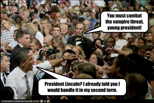 Barack Obama: Vampire Hunter
