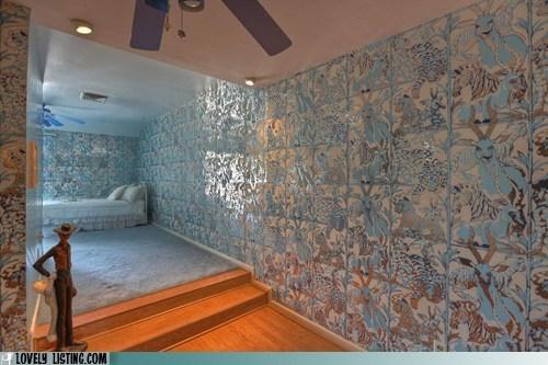 blue,jungle,metallic,wallpaper