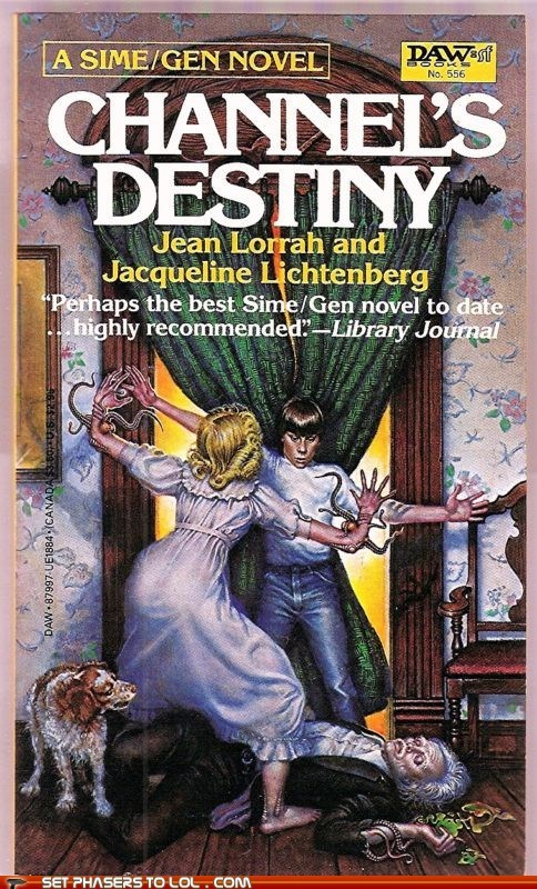 WTF Sci-Fi Book Covers: Channel's Destiny