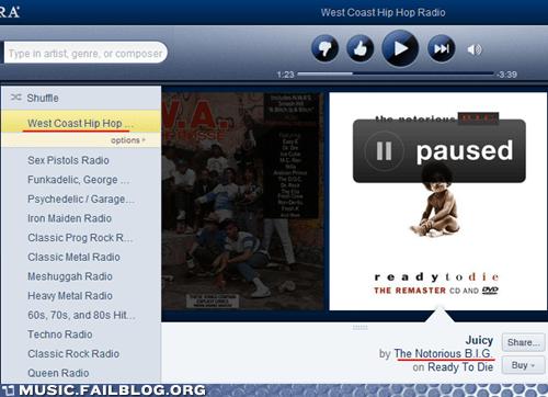 Biggie,biggie smalls,hip hop,notorious-b-i-g,pandora,playlist,the-notorious-b-i-g,west coast,West Side