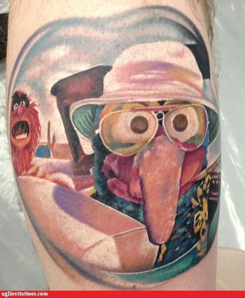 Ugliest Tattoos: Gonzo S. Thompson
