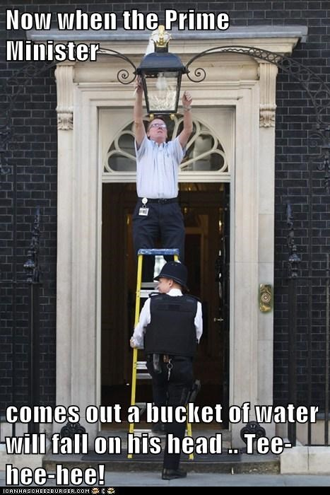 Things Get Boring at 10 Downing Street