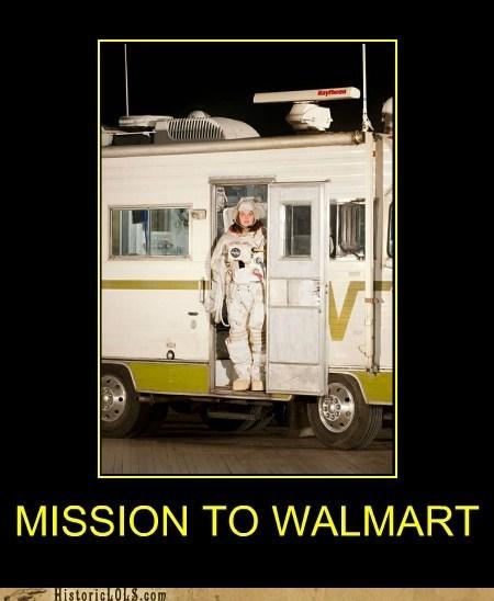 rv,space suit,wal mart,winnebago,woman