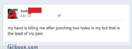 punching,butthurt