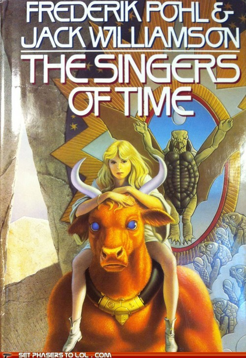 WTF Sci-Fi Book Covers: The Singers of Time
