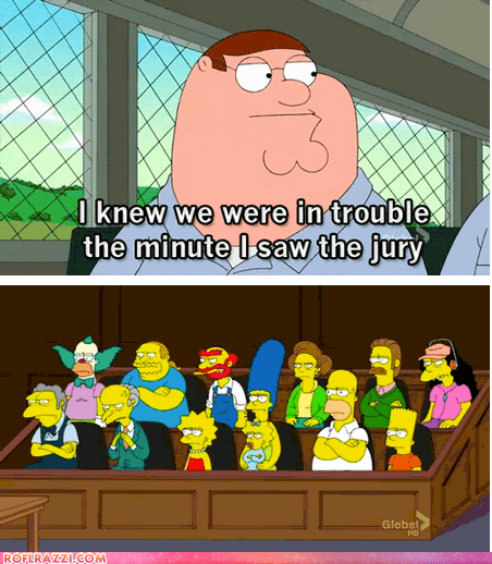 """The Court of """"Simpsons Already Did It"""" Will Come to Order!"""