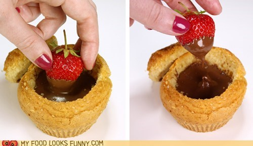Edible Fondue Pot