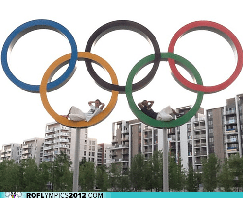 U.S. Men's Gymnasts Chillin' on the Rings