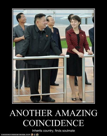 kim jong-un,soulmate,country,North Korea,ri sol-ju,amazing,coincidence