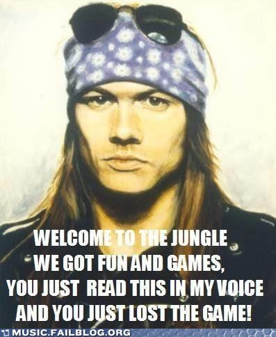 axl rose,guns and roses,the game