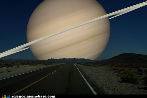 If Saturn Switched Places With the Moon