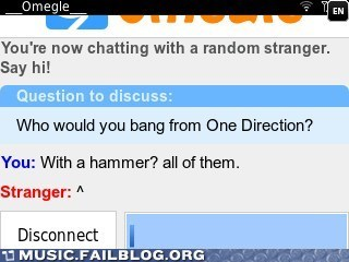 Some People Can Go One Direction to Hell