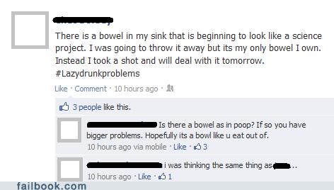 bowel,poop,kitchen sink,bowl,typos