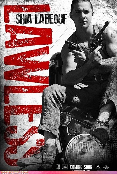 "The ACTUAL Movie Poster For ""Lawless"""
