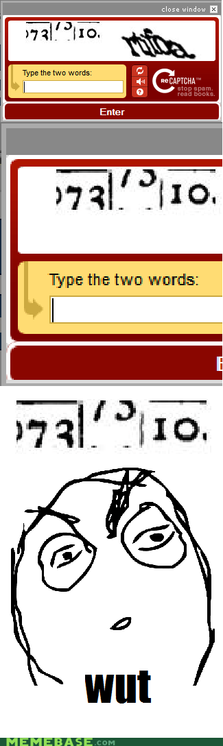 Let's Hear You Pronounce That One, Audio Captcha