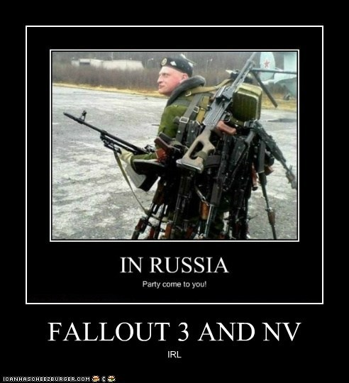 FALLOUT 3 AND NV