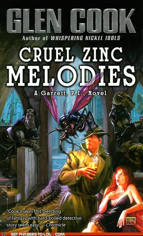 WTF Sci-Fi Book Covers: Cruel Zinc Melodies