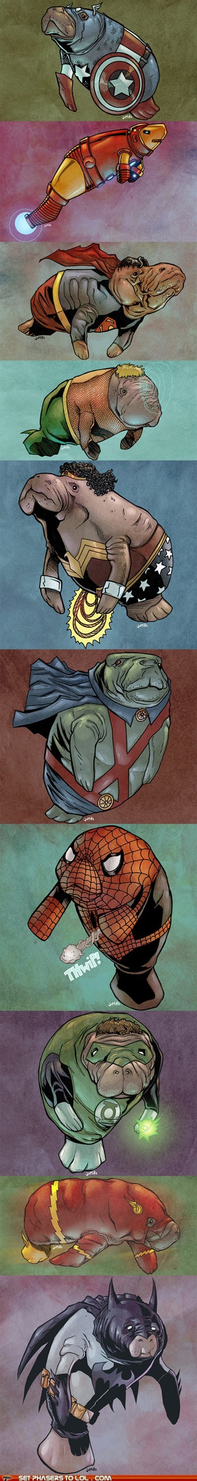 Set Phasers to LOL: Super Manatees