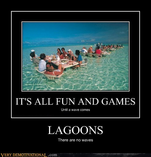 eating,hilarious,lagoon,ocean,wave