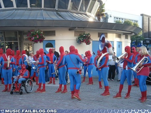 Music FAILS: Spider-Band