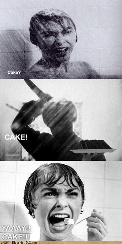 Mmmmm Shower Cake