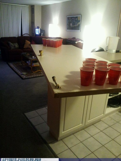 When Life Opens Doors, You Unhinge Them and Make a Pong Table