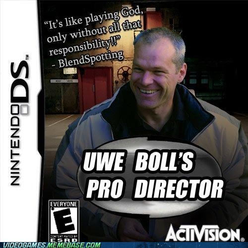 activison,ds,pro director,the internets,uwe boll