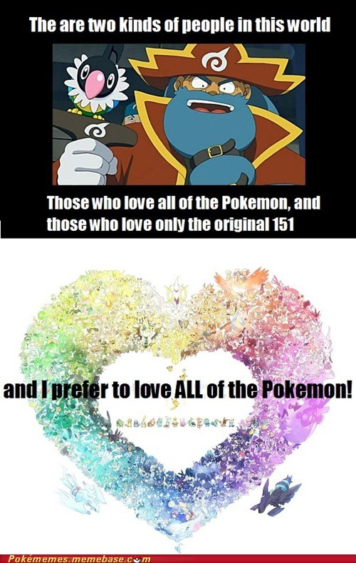 Love ALL the Pokémon