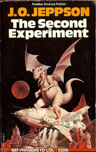 WTF Sci-Fi Book Covers: The Second Experiment