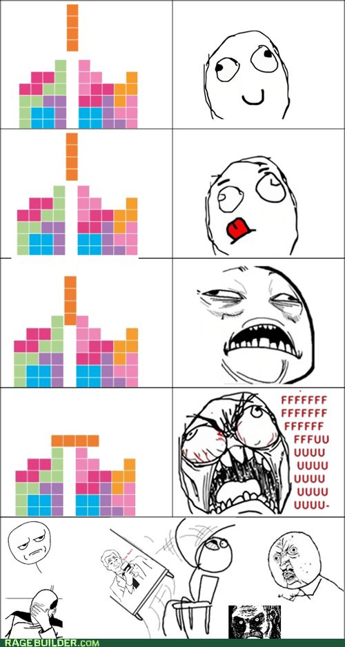 fu guy,Rage Comics,sweet jesus have mercy,tetris