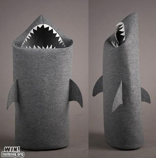 basket,cute,design,shark,shark week