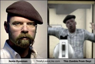 Vergleich: Jamie Hyneman vs. DayZ Zombie