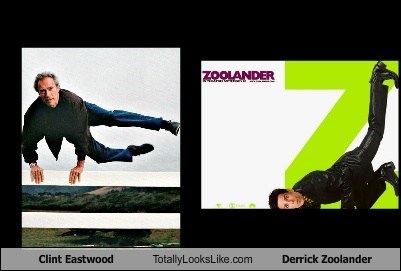 Clint Eastwood Totally Looks Like Derrick Zoolander