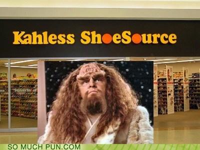kahless,klingon,marquis,payless,Pronunciation,similar sounding,Star Trek,store