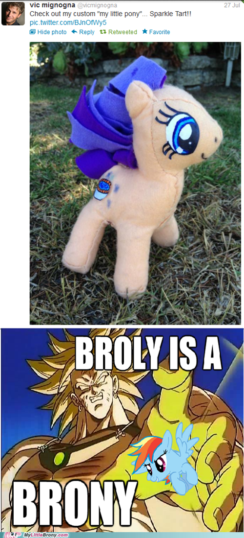 BROLY IS A BRONY
