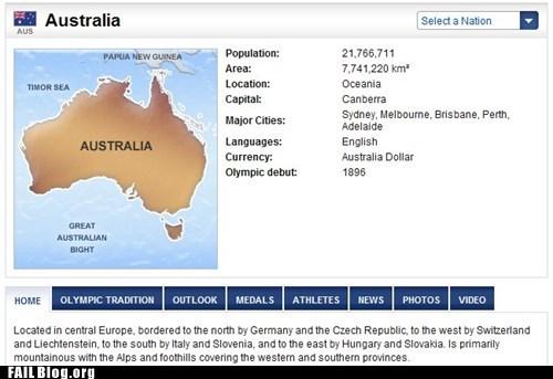 australia,australia and austria,austria,NBC,nbc olympics,olympics
