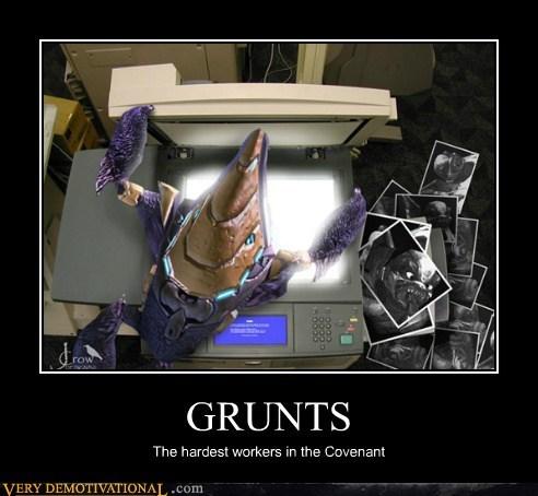 copy machine,grunt,halo,hilarious